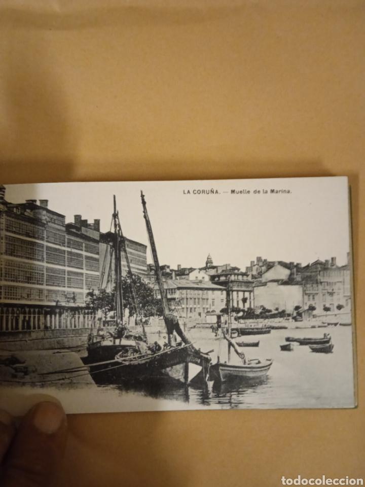 Postales: Librito librillo de antiguas postales de la Coruña - Foto 11 - 287958498