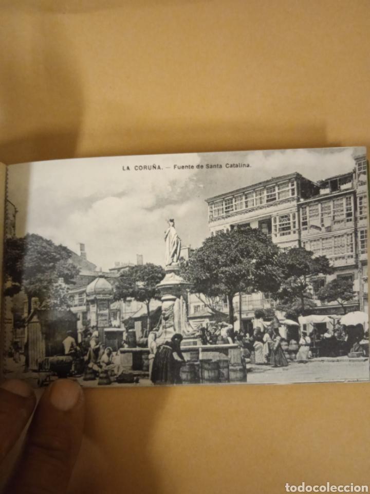 Postales: Librito librillo de antiguas postales de la Coruña - Foto 12 - 287958498