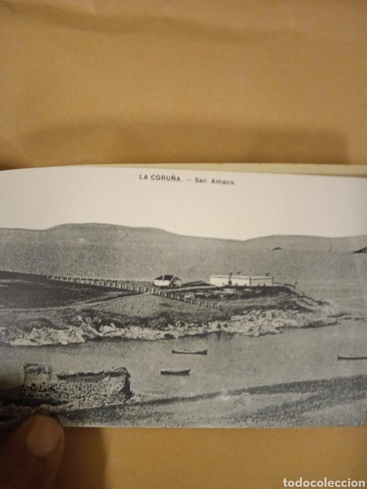 Postales: Librito librillo de antiguas postales de la Coruña - Foto 13 - 287958498