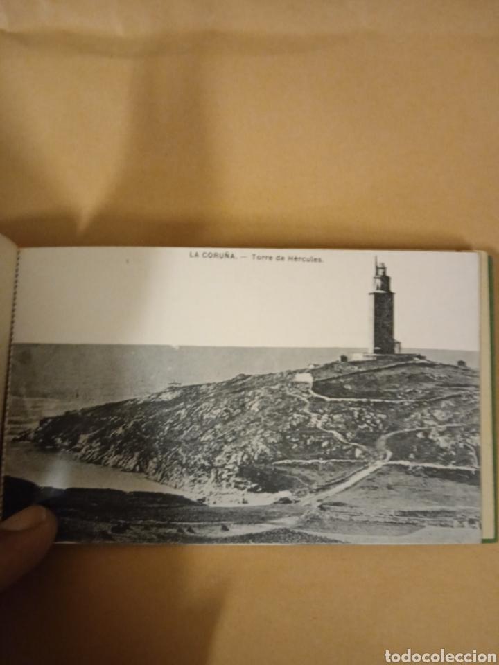 Postales: Librito librillo de antiguas postales de la Coruña - Foto 14 - 287958498