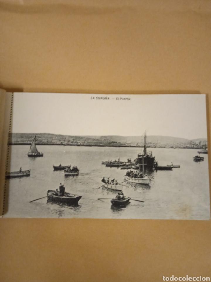 LIBRITO LIBRILLO DE ANTIGUAS POSTALES DE LA CORUÑA (Postales - España - Galicia Antigua (hasta 1939))