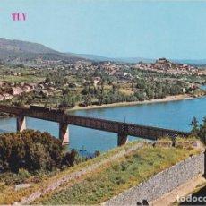 Postales: TUY (PONTEVEDRA) PUENTE INTERNACIONAL - EDICIONES PARIS Nº415 - S/C. Lote 288034003