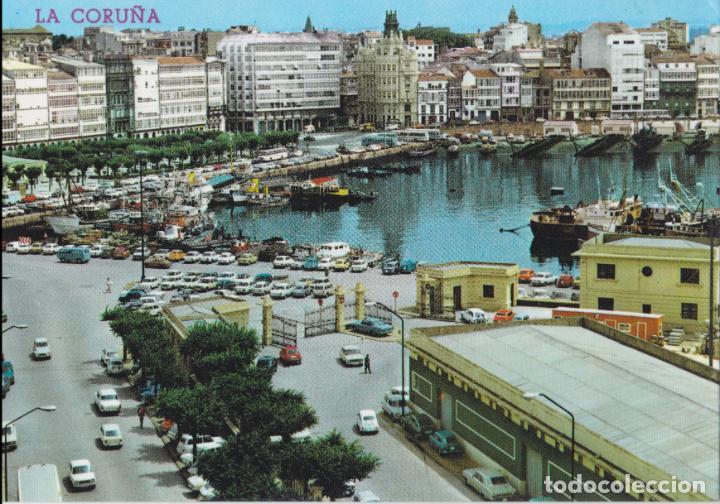 LA CORUÑA, DÁRSENA, VISTA PARCIAL – EDICIONES PARIS Nº1003 – S/C (Postales - España - Galicia Moderna (desde 1940))