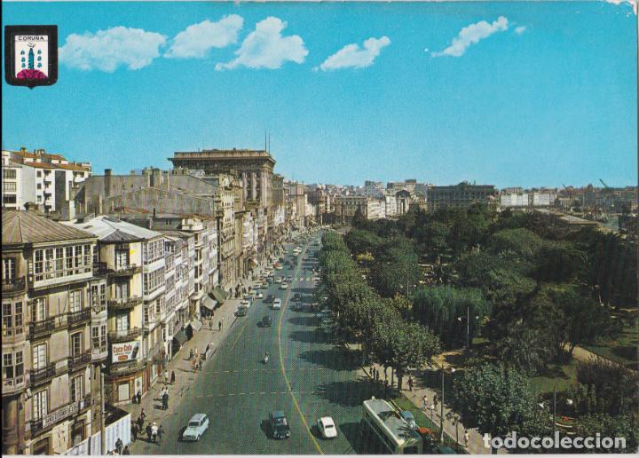 LA CORUÑA, LOS CANTONES Y JARDINES – ESCUDO DE ORO Nº66 – S/C (Postales - España - Galicia Moderna (desde 1940))