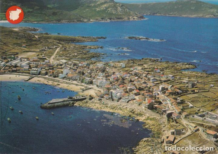MUGIA (LA CORUÑA) VISTA AÉREA – EDICIONES ALARDE Nº906 – ESCRITA (Postales - España - Galicia Moderna (desde 1940))