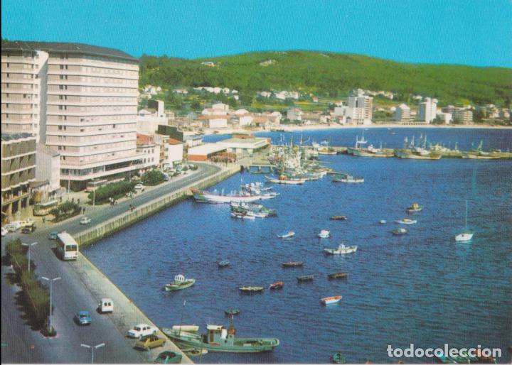 SANTA EUGENIA DE RIVEIRA (LA CORUÑA) PASEO DEL MALECÓN – POSTALES FAMA Nº3735 – ESCRITA (Postales - España - Galicia Moderna (desde 1940))