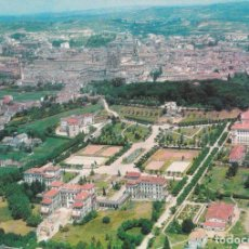 Postales: SANTIAGO DE COMPOSTELA, VISTA GENERAL, AÉREA – EDICION DE LA REGION Nº8 – ESCRITA. Lote 288529798