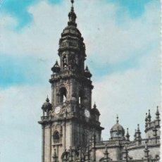 Postales: SANTIAGO DE COMPOSTELA, CATEDRAL,TORRE DEL RELOJ Y PUERTA SANTA – GARCIA GARRABELLA Nº10 – S/C. Lote 288530238