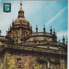 Postales: SANTIAGO DE COMPOSTELA, PUERTA SANTA (CATEDRAL) – ESCUDO DE ORO Nº25 – S/C. Lote 288530318