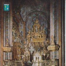 Postales: SANTIAGO DE COMPOSTELA, ALTAR MAYOR DE LA CATEDRAL – ESCUDO DE ORO Nº38 – S/C. Lote 288530743