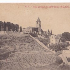 Postales: BARCELONA, SANT GENIS D'AGUDELLS VISTA GENERAL. ED. R.T. FOTOTIPIA THOMAS. SIN CIRCULAR. Lote 288690213