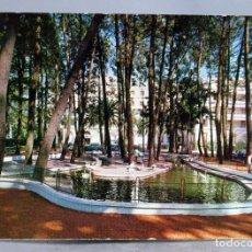 Postais: POSTAL ISLA DE LA TOJA ESTANQUE CISNES EDICIONES ALARDE CIRCULADA SELLO 1968. Lote 289312463