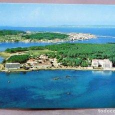 Postales: POSTAL ISLA DE LA TOJA VISTA AÉREA EDICIONES ALARDE AÑOS 60 SIN CIRCULAR. Lote 289312648
