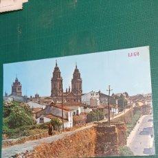Postales: LUGO MURALLAS Y CATEDRAL 313 EDICIONES PARIS 1967. Lote 289326308