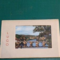 Postales: LUGO LIBRILLO 15 POSTALES VINTAGE EDICIONES GARABELLA EDICIONES. Lote 289331608