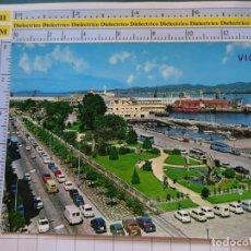 Postales: POSTAL DE PONTEVEDRA. AÑO 1975. VIGO AVENIDA Y JARDINES DE ELDUAYEN. COCHES. 151 ARRIBAS. 1100. Lote 290047423