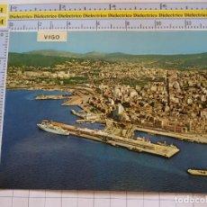 Postales: POSTAL DE PONTEVEDRA. AÑO 1971. VIGO VISTA PARCIAL AEREA. 3158 FAMA. 1101. Lote 290047473