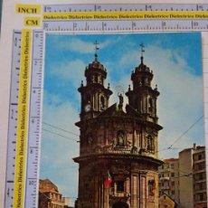 Postales: POSTAL DE PONTEVEDRA. AÑO 1973. CAPILLA DE LA PEREGRINA. AUTOBÚS. 61 ARRIBAS. 1103. Lote 290047923