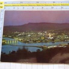 Postales: POSTAL DE PONTEVEDRA. AÑO 1964. VISTA GENERAL NOCTURNA 2006 ARRIBAS. 1105. Lote 290048013