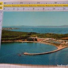 Postales: POSTAL DE PONTEVEDRA. AÑO 1966. LA TOJA, VISTA AEREA. 481 ALARDE. 1108. Lote 290048143