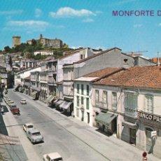 Cartoline: LUGO, MONFORTE DE LEMOS CALLE DEL CARDENAL. ED. ARRIBAS Nº 37. SIN CIRCULAR. Lote 292388803
