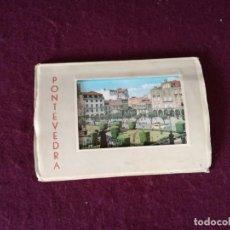 Cartoline: ANTIGUO LIBRITO CON 10 POSTALES EN ACORDEÓN DE PONTEVEDRA. Lote 293302528