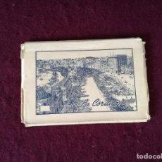 Cartoline: ANTIGUO LIBRITO CON 5 POSTALES EN ACORDEÓN DE LA CORUÑA. Lote 293303243