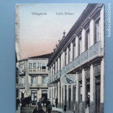Postales: POSTAL VILLAGARCIA AROSA CALLE BILBAO PONTEVEDRA VIGO GALICIA PERFECTA CONSERVAC ANIMADA. Lote 293347173