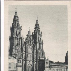 Postales: LA CORUÑA, SANTIAGO DE COMPOSTELA CATEDRAL FACHADA DEL OBRADOIRO. ED. KSADO. SIN CIRCULAR. Lote 293499173