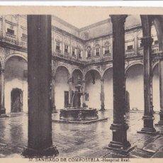 Postales: LA CORUÑA, SANTIAGO DE COMPOSTELA HOSPITAL REAL. ED. ROISIN Nº 37. CIRCULADA. Lote 293500128