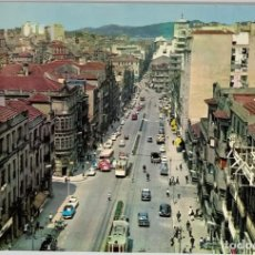 Postales: PONTEVEDRA, VIGO, CALLE DE JOSÉ ANTONIO (COCHES Y TRANVÍA). ED PARÍS. SIN CIRCULAR.. Lote 293687383