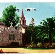 Postales: LA TOJA Nº 41 PANORAMICA 24X10 ISLA DE ENSUEÑO , CAPILLA / FOTOCOLOR VALMAN. Lote 293888458