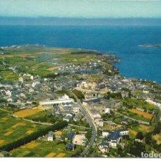 Postales: POSTAL RIBADEO (LUGO) - VISTA AÉREA - ED. ALARDE 1966 - NUEVA. Lote 295286163