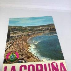 Postales: LA CORUÑA, CIUDAD EN LA QUE NADIE ES FORASTERO. FOTO BLANCO ESCRITA 1963.. Lote 295291613