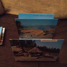 Postales: SET DESPLEGABLE DE 9 POSTALES. MONTE DE SANTA TECLA, MIRADOR NATURAL SOBRE EL RÍO MIÑO. CAR. Lote 295388968