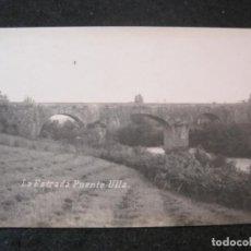 Postales: LA ESTRADA-PUENTE ULLA-FOTOGRAFICA-POSTAL ANTIGUA-(85.183). Lote 295525898