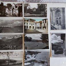 Postales: R-198.- LOTE DE -- 10 -- POSTALES DE - GALICIA - VARIAS LOCALIDADES DE ESTA COMUNIDAD , VER FOTOS. Lote 295835453