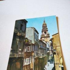Postales: POSTAL SANTIAGO DE COMPOSTELA RUA DEL VILLAR. Lote 295973473