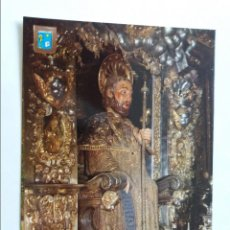 Postales: POSTAL - SANTIAGO DE COMPOSTELA - APOSTOL SANTIAGO - ALTAR MAYOR CATEDRAL 34 -S/C. Lote 296942733