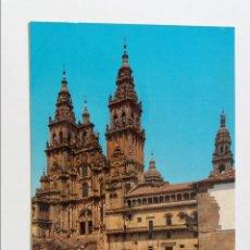 Postales: POSTAL - SANTIAGO DE COMPOSTELA - CATEDRAL - FACHADA DEL OBRADOIRO 3591 - S/C. Lote 296948363