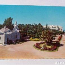 Postales: POSTAL - LA TOJA - IGLESIA DE LA TOJA Y GRAM HOTEL - S/C. Lote 296956048