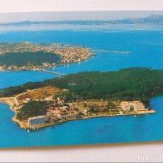 Postales: POSTAL - ISLA DE TOJA PONTEVEDRA - VISTA AEREA 3620 - S/C. Lote 297032853