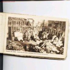 Postales: CUADERNILLO CON 24 POSTALES DEL ALCAZAR DE TOLEDO ANTES Y DESPUES DEL ASEDIO.1939. Lote 5202337