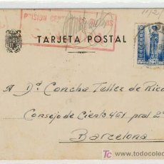 Postales: ( EP-140) TARJETA POSTAL PRISIONERO REPUBLICANO. Lote 3291054
