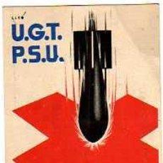 Postales: ORIGINAL PROPAGANDA BELICA DE U.G.T P.S.U ASSASSINS (ASESINOS). Lote 4202286