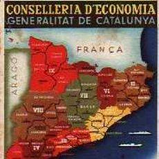 Postales: POSTAL ORIGINAL PROPAGANDA CONSELLERIA D'ECONOMIA GENERALITAT DE CATALUNYA. Lote 4202538