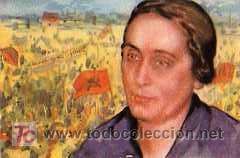 POSTAL ORIGINAL DOLORES IBARRURI (PASIONARIA) (Postales - Postales Temáticas - Guerra Civil Española)