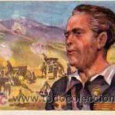 Postales: POSTAL ORIGINAL PEREZ PARRAS JEFE DE ARTILLERIA . Lote 4206276