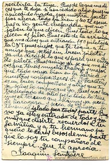 Postales: TARGETA POSTAL SERVEI NACIONAL MILICIES ANTIFEIXISTES DE CATALUNYA, DATA 12-8-1937 - Foto 2 - 5181046