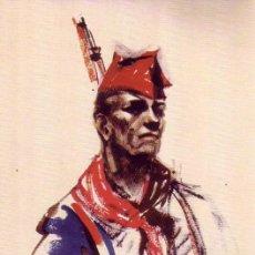Postales: TARJETA GUERRA CIVIL ESPAÑOLA (1936-1939): MILICIANO ANONIMO. Lote 16053190